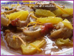 osso bucco � l'orange