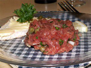 Steak tartare recette steak tartare aftouch cuisine for Aftouch cuisine com