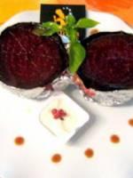 Betterave rouge cuite en croûte de sel