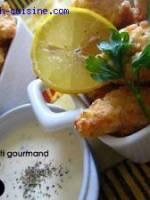 Bouch�es de poulet frit au citron