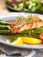 Fresh Cod Brandade with Green Asparagus