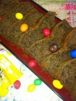 Cake aux m&m s