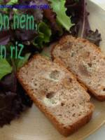 Cake châtaigne roquefort et figues