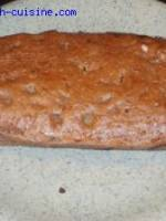 Cake fondant poire-chocolat