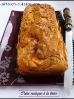 Cake rustique à la bière sans lait