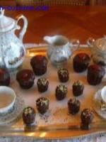Cannelés glacés au chocolat