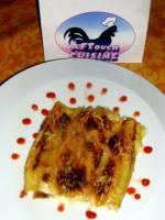 Cannelloni au poulet gratin�s