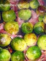 Brussel's Sprouts with Pancetta