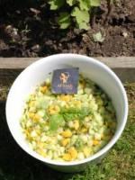 Concombre � la mangue et au basilic