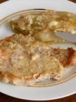 Côte de veau au Roquefort