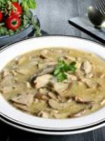 Cream of  Cep mushroom Soup