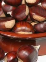 Crémée de châtaignes et cèpes