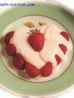 Crémets aux fraises