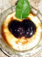 Cr�meuse de Pruneaux en caramel d'Armagnac