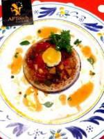 Crumpet fondue de Provence oeuf de caille Chorizo de Bellota