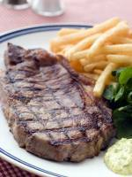 Grilled Sirloin Steak with Bearnaise Sauce