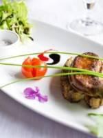 Escalopes de foie gras poêlées à la Normande