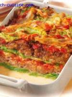 Fausses lasagnes au chou frisé