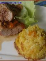 Filets mignons farcis � la mangue