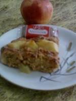 G�teau aux pommes, miel et sp�culoos