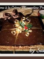 Gâteau suprême à la crème mousseline praliné