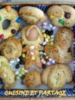 Gâteaux traditionnels de pâques
