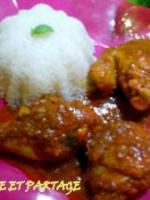 Le poulet tikka massala