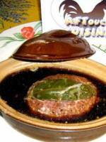 La terrine de sanglier pistachée