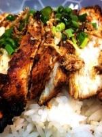 Délices de poulet au saté