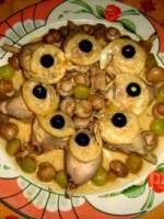 Les Pilons de poulet cr�me de citron jaune