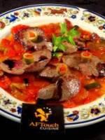 Foies de lapin planchès