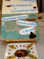 Soissons sevr�s bolognaise de canard