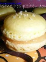 Macarons � la confiture de citrons de Menton