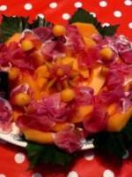 Melon de Cavaillon et jambon San Daniele