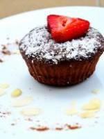 Muffins noix de coco et chocolat noir