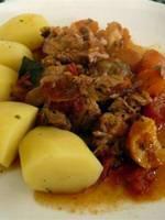 Navarin d\'agneau (Lamb stew)