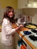 Omelette au boudin