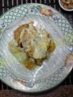 Pommes aux miel noix fromage de chèvre
