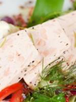 Pain de saumon chaud