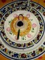 Pétales de st-jacques au caviar d\'Aquitaine