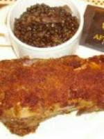 Pied de porc en panure de noix