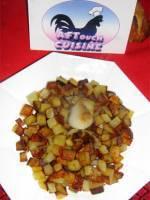 Pommes de terre saut�es