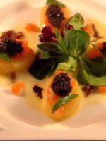 Pommes nouvelles de Ré saumon caviar d'aquitaine