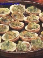 Praires farcies champignons et légumes