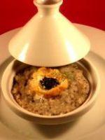 Rizotto au caviar d'aquitaine