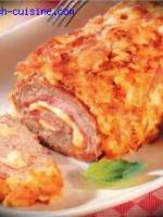 Roulade mixte boeuf jambon fromage