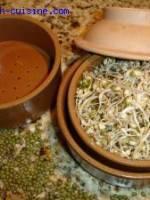 Salade au tofu et aux germes de soja