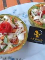 Salade de melon � l'italienne