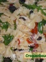 Salade de pâtes  au jambon et mozzarella