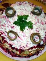 Salade russe Selyodka pod shouboy